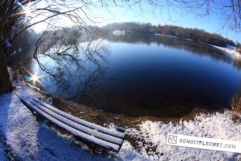 lac marion en hiver
